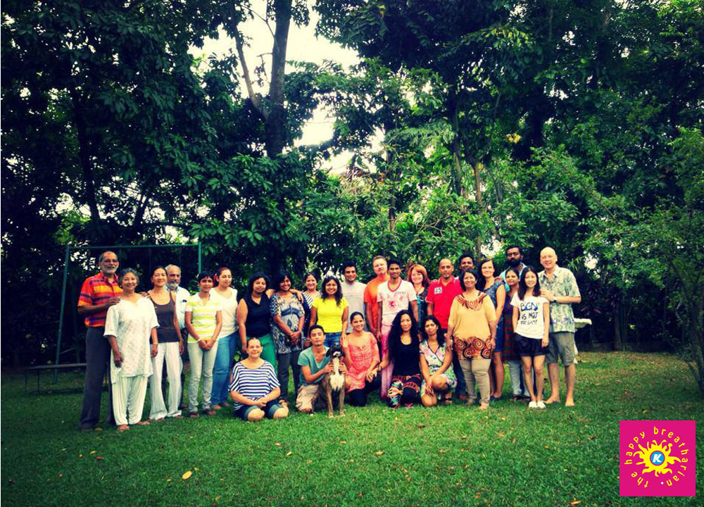 August 2013 program in Sri lanka with participants flying in from Arizona, Texas and Singapore