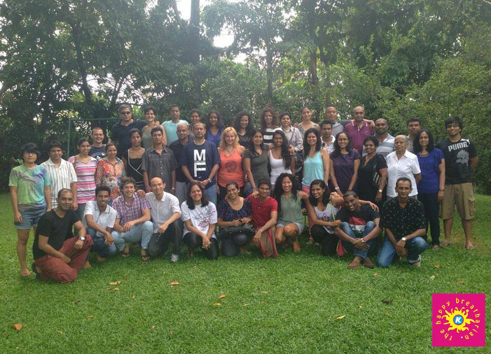 November 2013 program in Sri Lanka (Group 1)