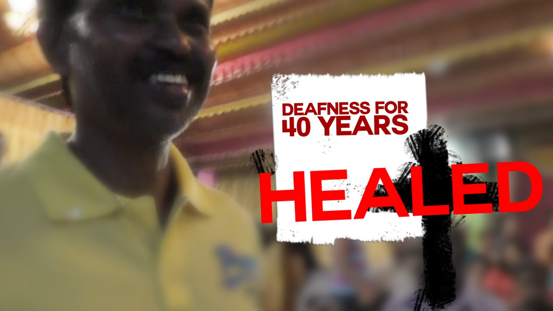 WOW HEALING DIARIES – DEAFNESS LEAVES AFTER 40 YEARS!