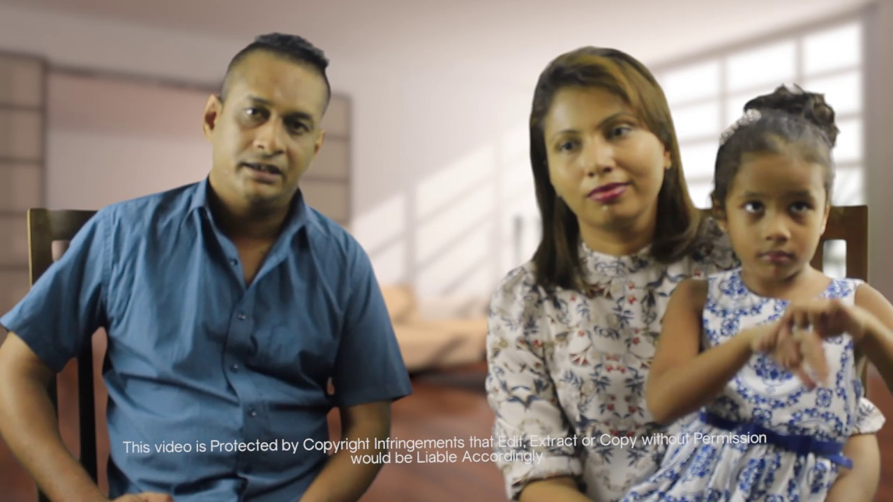 DAUGHTER HEALED OF DENGUE IN LESS THAN 12 HOURS – JEROME AND DHARSHI