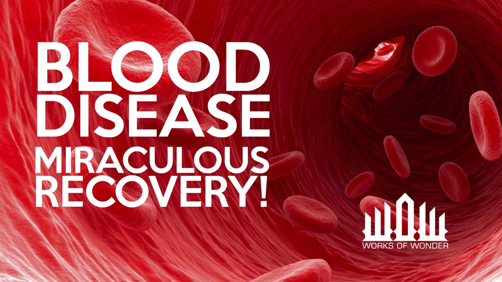 BLOOD DISEASES MIRACULOUS RECOVERY! | WOW HEALING DIARIES